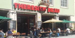 Theresienbraeu пивная Инсбрук