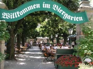 пивные сады Вены