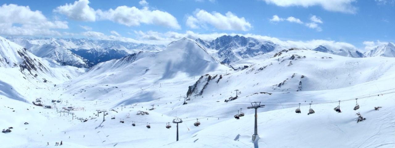 ишгль горнолыжный курорт трассы