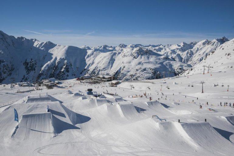 Ишгль горнолыжный курорт