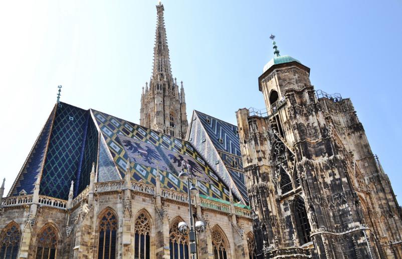 башни Штефансдом, собор Вены
