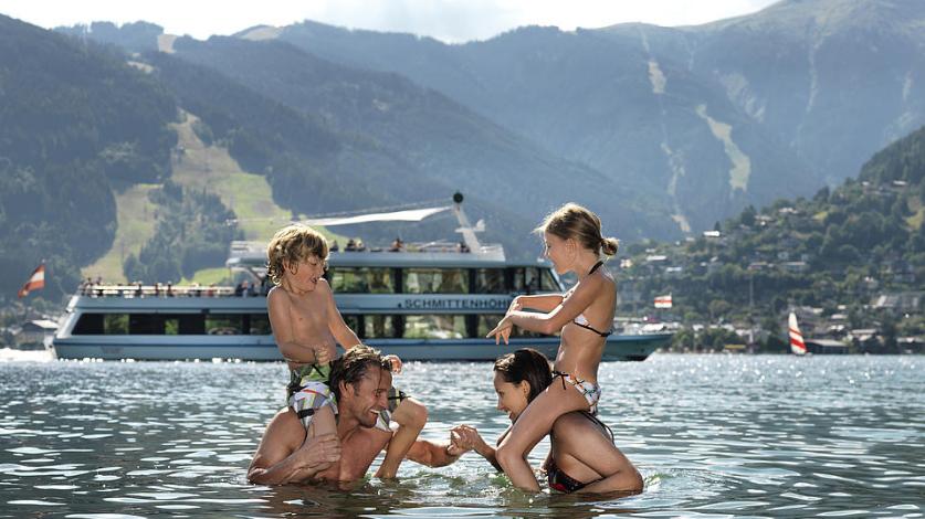австрия озера летом