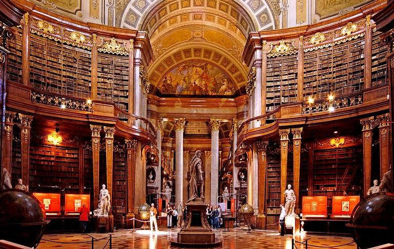 императорская библиотека хофбург