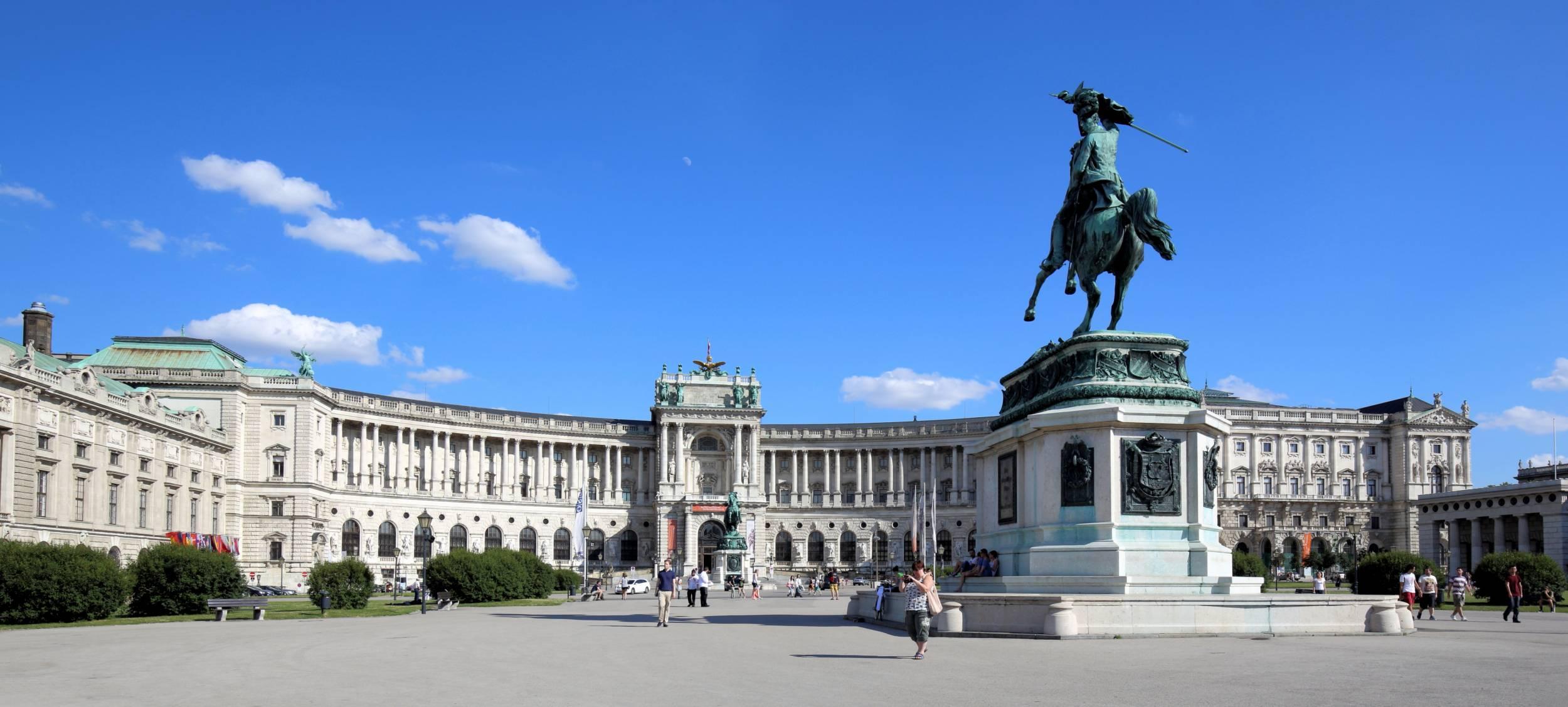 фото дворца хофбург
