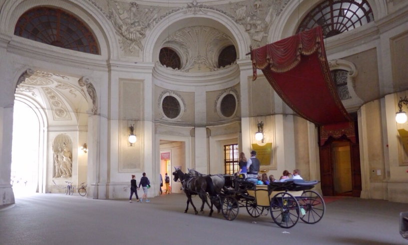 императорский дворец вена