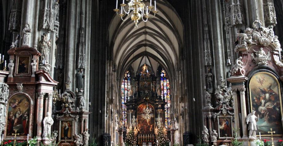 собор святого стефана вена на рождество