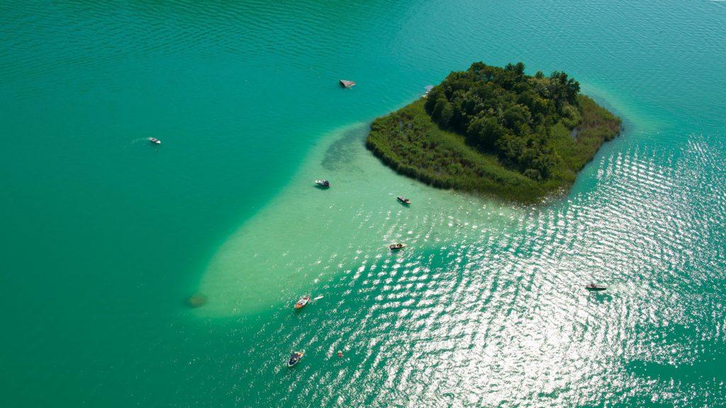 самое большое озеро каринтии