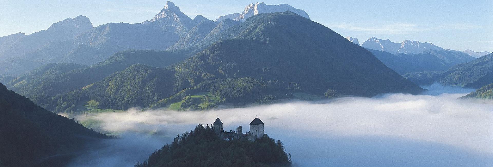 австрия лето национальный парк гезойзе