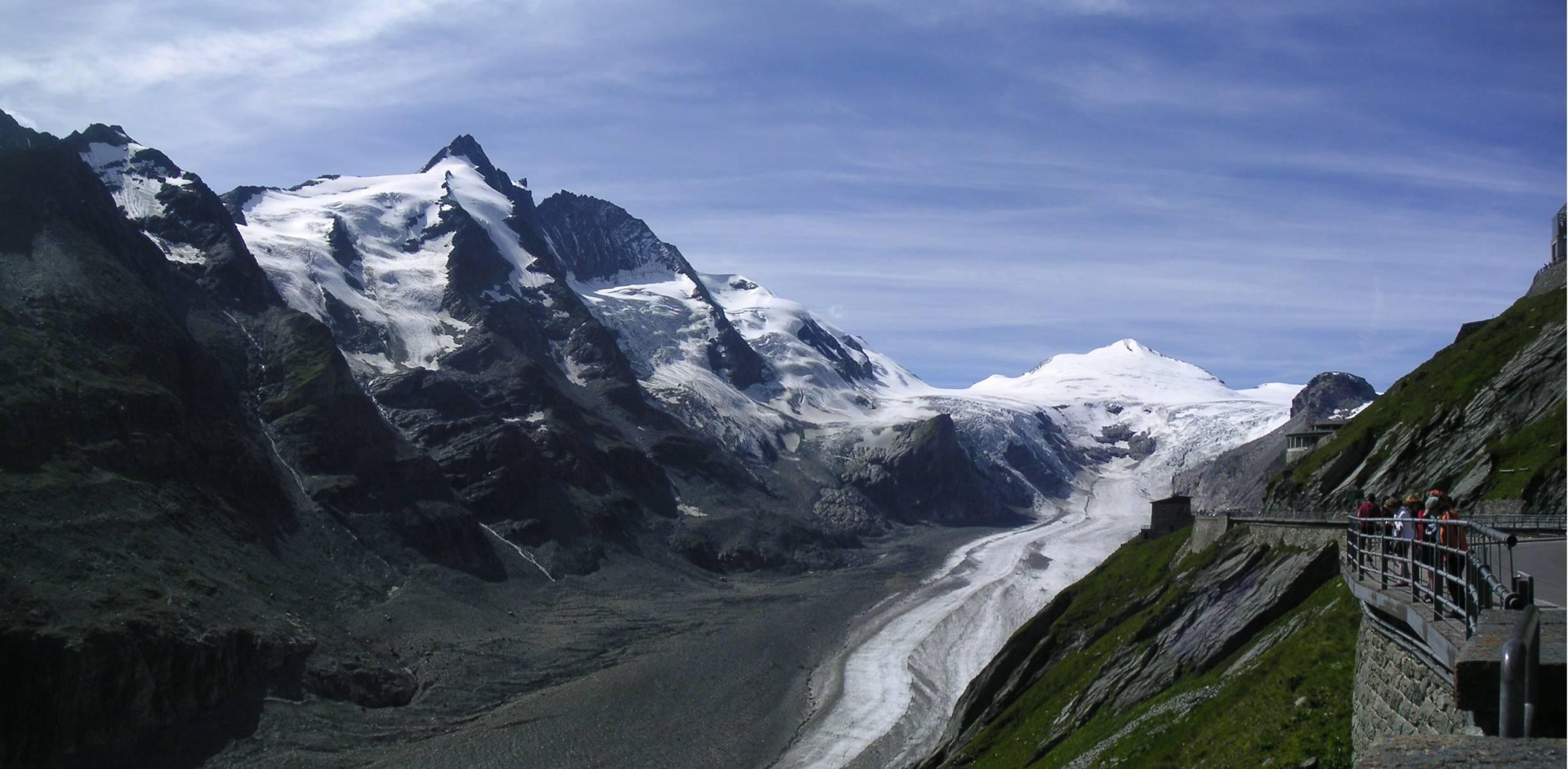 самый большой ледник австрии пастерце