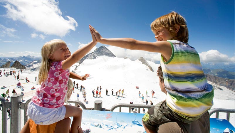 Хинтертукс Австрия .лыжи летом