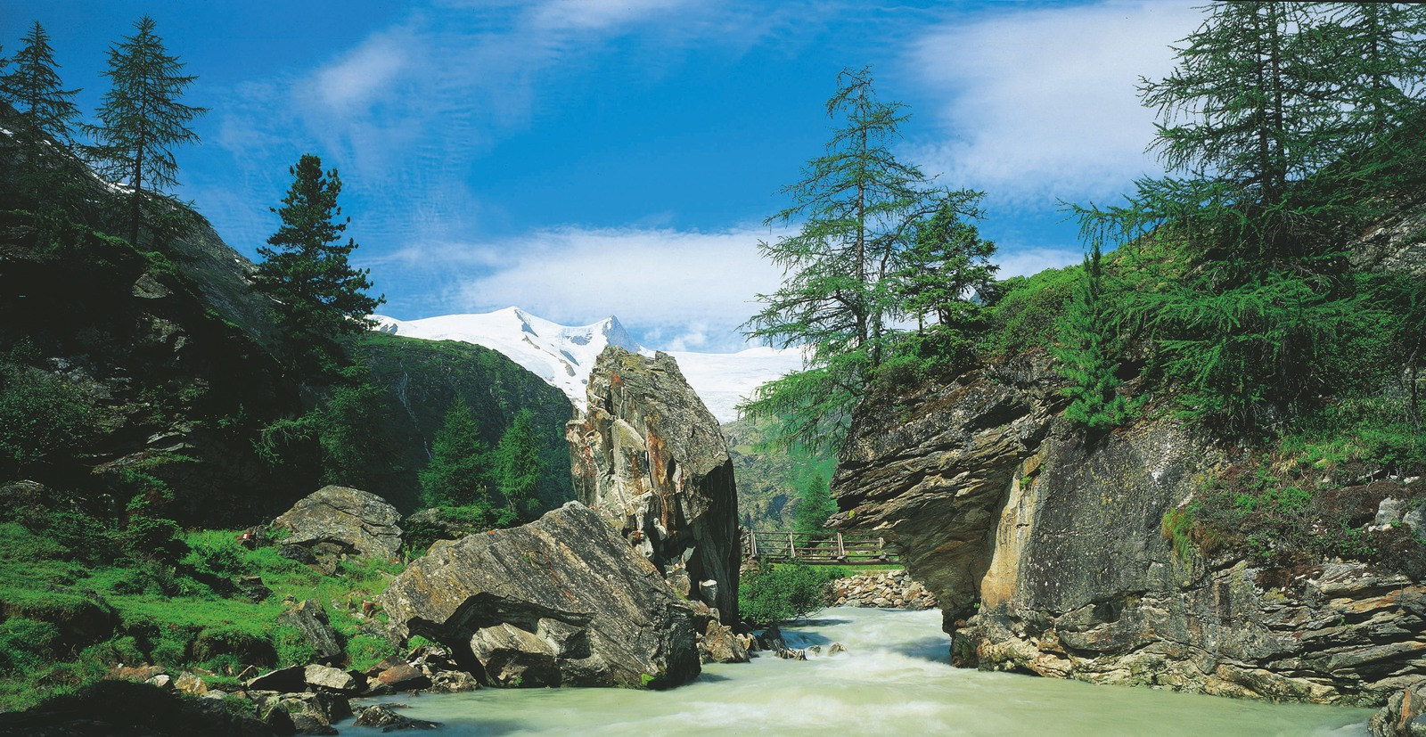 национальный парк хое тауэрн австрия лето