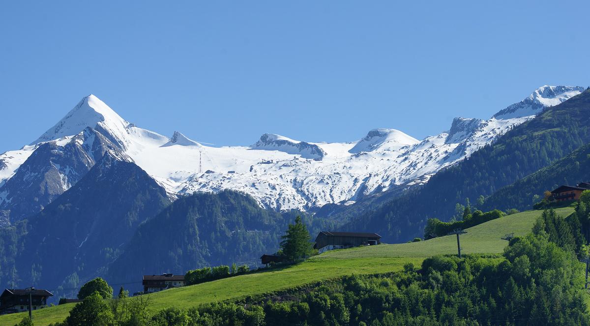 капрун ледник летнее катание австрия