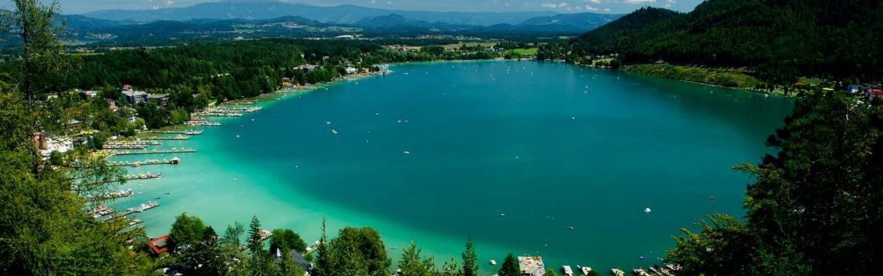 озеро Клопайнерзее Австрия