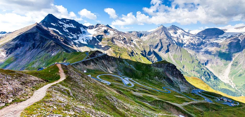 панорасная дорога гроссглокнер австрия