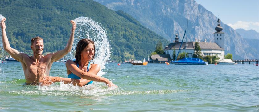 озера в Австрии летом