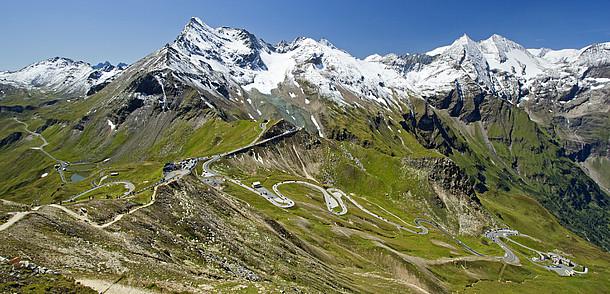 каринтия горная дорога