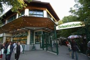 schweizerhaus prater пивная Вены