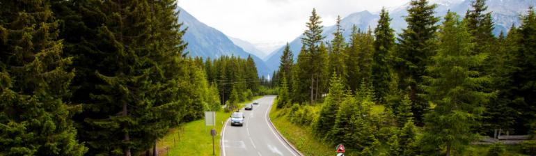 платная дорога в Австрии Gerlos alpenroad