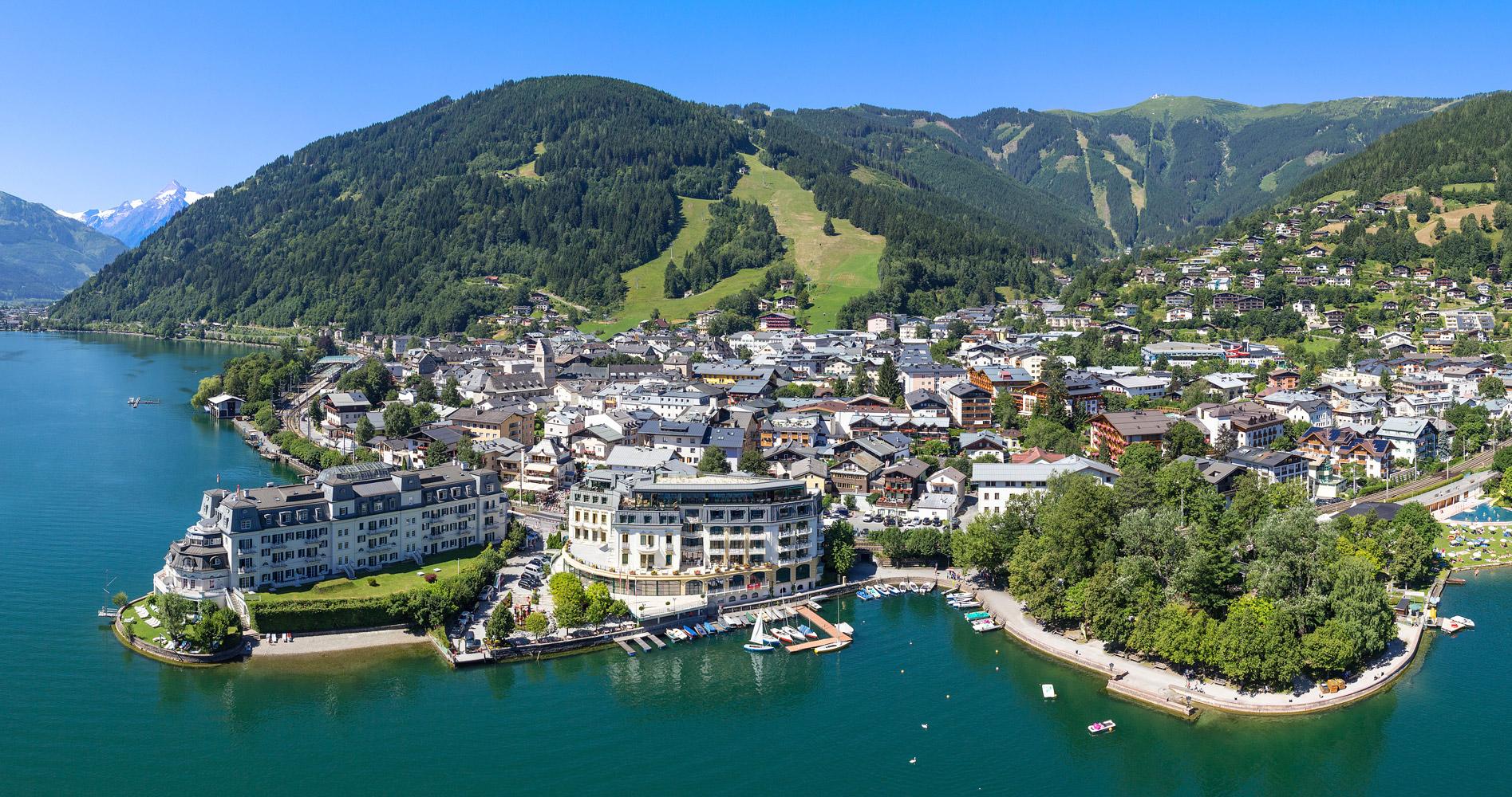 Обои alps, salzburg, целль-ам-зе, austria, Zell am see, зальцбург, австрия. Пейзажи foto 19