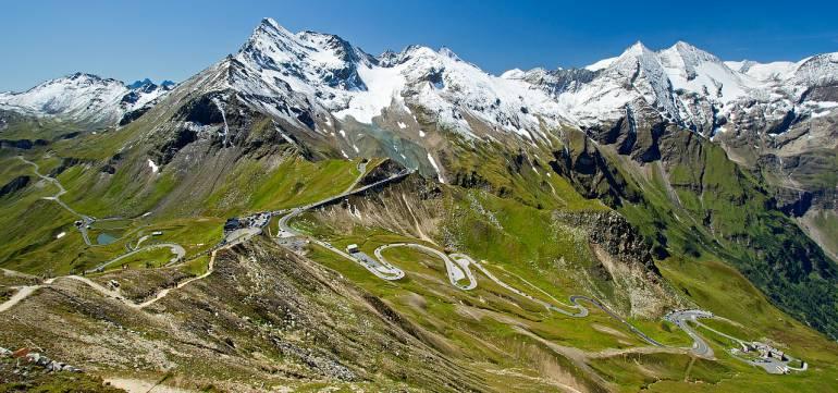 Платные дороги в Австрии гроссглокнер