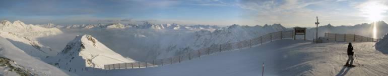 Ишгль панорама Палинкопф