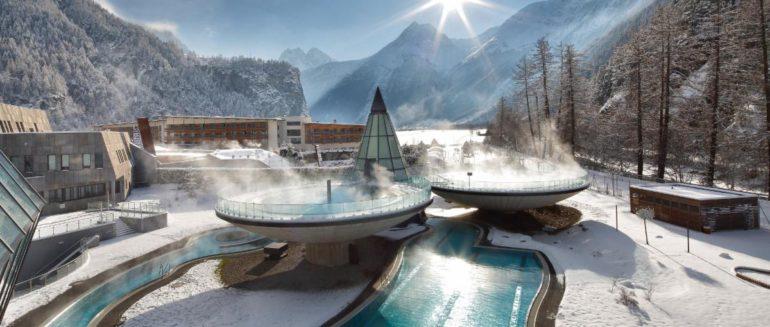 лучший термальный курорт австрии Аква дом