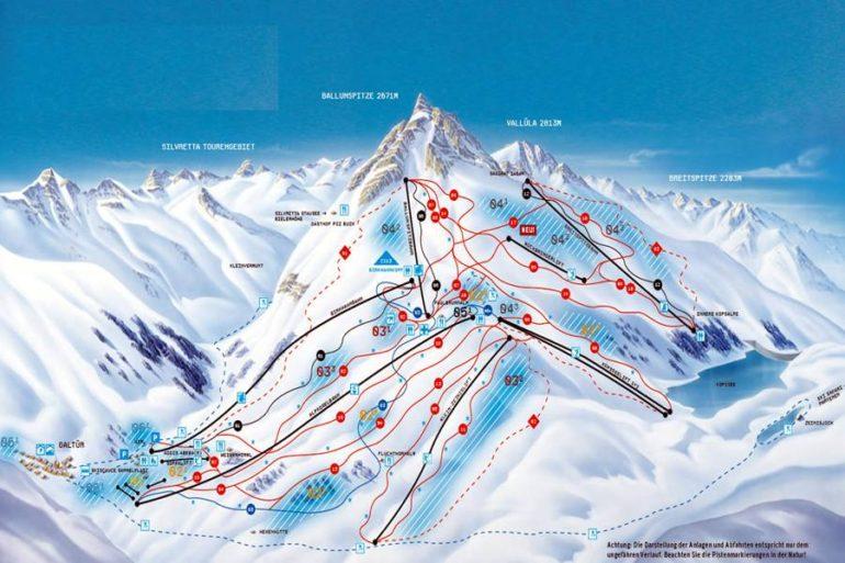 карта трасс Гальтюр