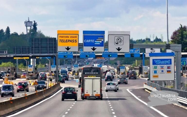 платные дороги в Австрии