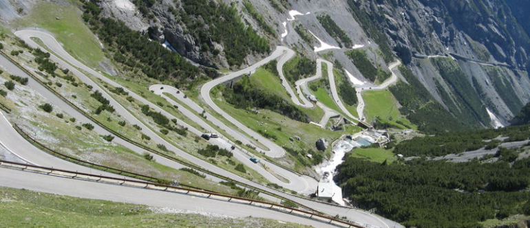 панорамная дорога в Австрии перевал тиммельсйох