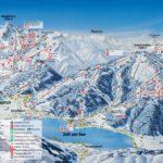 Карта трасс Цель ам Зее и Капрун, Австрия