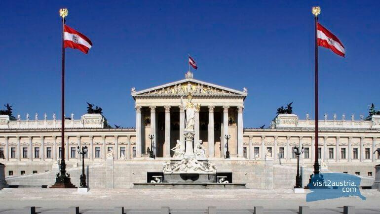 Парламент Австрии, достопримечательности за 1 день