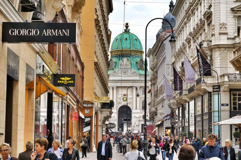 Вена за 1 день - улица Кольмаркт