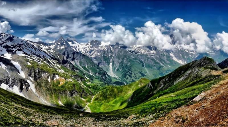 высокогорная дорога гросглокнер