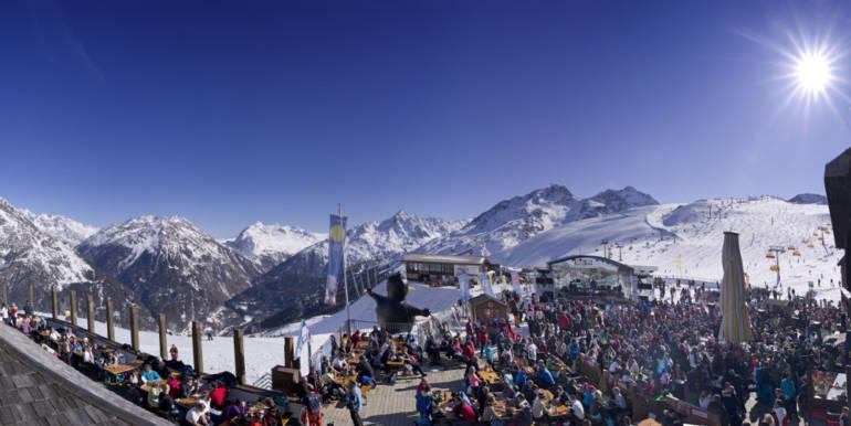 Зельден горнолыжный курорт Австрии