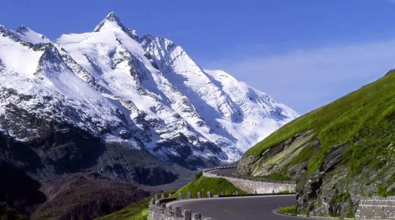 гросглокнер дорога гора австрия