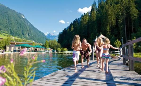 летом в австрии озера