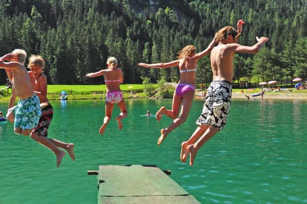 Тироль летом на озерах