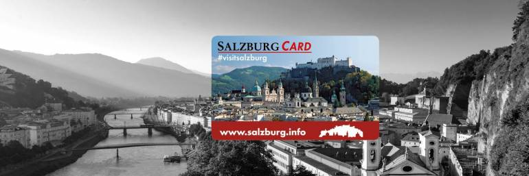 Зальцбург туристическая карта