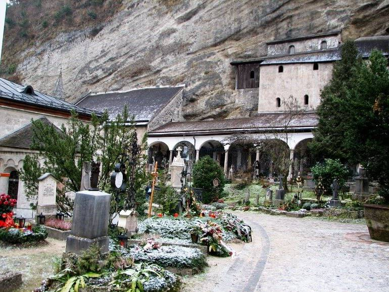 Зальцбург, кладбище Святого Петра