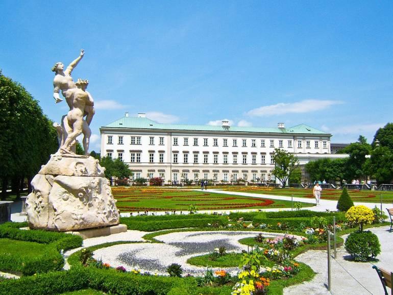 Достопримечательности Зальцбурга - дворец Мирабель