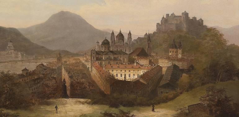 Зальцбург древний город Австрии