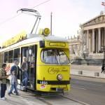 Обзорный трамвай в Вене Vienna Ring Tram
