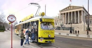экскурсия в Вене на трамвае