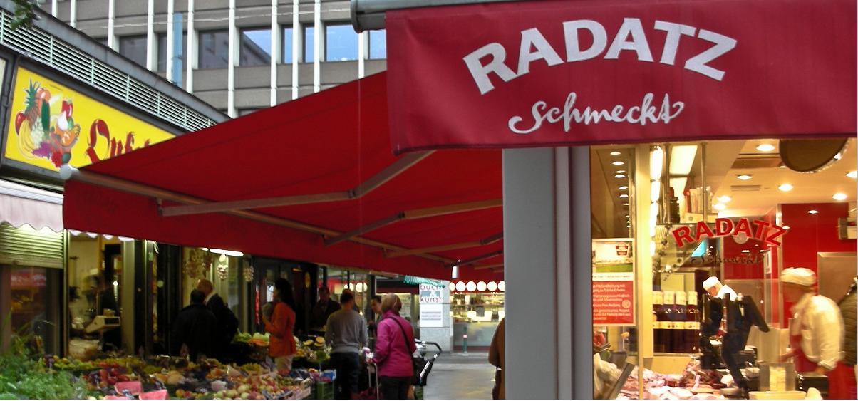 вкусная сосисочная в Вене