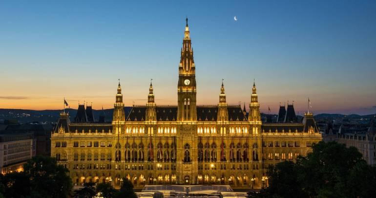 городская ратуша Вена