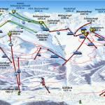 Карта (схема) трасс Зельден, Австрия