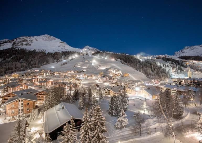 горнолыжные курорты Австрии - Лех