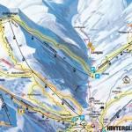 Карта (схема) трасс Заальбах, Австрия