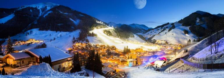 Заальбах горнолыжный курорт Австрии