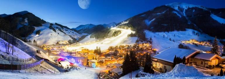 Заальбах горнолыжные курорты Австрии